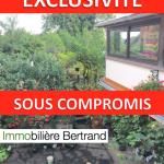 Vente Kintzheim 67600 Spacieuse Maison 184m2, Gîte, Cour, Garage, Jardin, 209 900 €